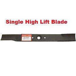 single high lift blade, Honda mower, walk behind mower, residential mower, Honda Warranty