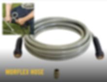 Morflex hose, Hustler, Pressure Washer, Hustler pressure washer