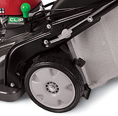 large wheels, Honda mower, walk behind mower, residential mower, Honda Warranty