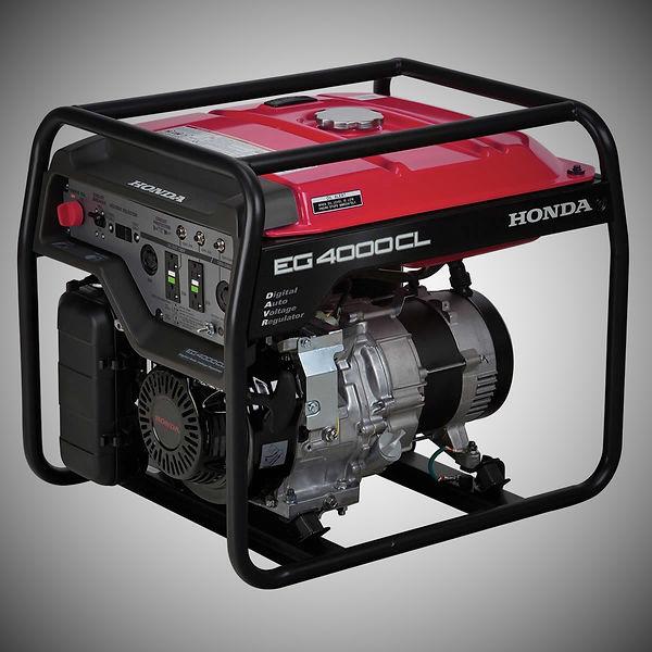 EG4000CL, Honda Generators, Honda Warranty, generators