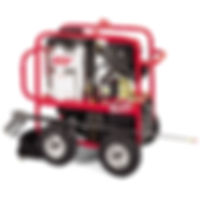 Hotsy Hot Water Gas Pressure Washer