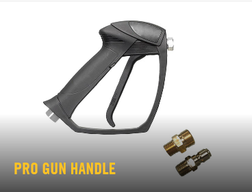 gun handle, Hustler, Pressure Washer, Hustler pressure washer