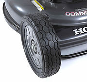 "large 9"" Nexite wheels, Honda mower, Commercal lawn mower, walk behind mower, Honda warranty"