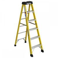 6' Ladder, 5 Step, Werner Ladder, 300lb