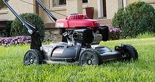 side discharge and mulch, Honda mower, walk behind mower, residential mower, Honda Warranty