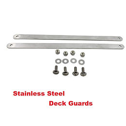 stainless steel deck guards, Honda accessories, Honda mower, walk behind mower, residential mower, Honda warranty