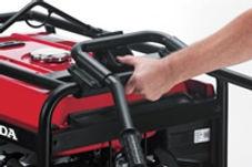 easy folding handles, Honda Generators, Honda Warranty, generators