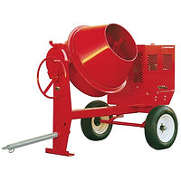 Towable Concrete Mixer, Tow Behind Cement Mixer, Cement Mixer