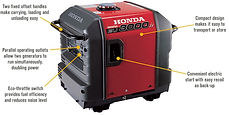 electronic ignition, Honda Generator, Honda Warranty, generators