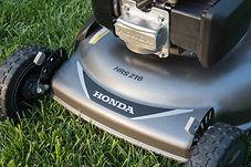 """21"""" steel deck, Honda mower, walk behind mower, residential mower, Honda Warranty"""
