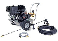 gas powered, cold water, portable, power washer, pressure washer