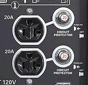 individual oulet circuit protection, Honda Generators, Honda Warranty, generators