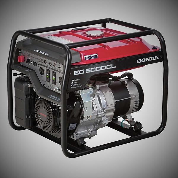 EG5000CL, Honda Generators, Honda Warranty, generators