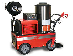 800 Series, oil heated, electric powered, portable