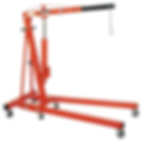 Knock Down Engine Hoist, 2 Ton Engine Hoist, Foldable Shop Crane.