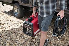 lightweight and compact, Honda Generators, Honda Warranty, generators