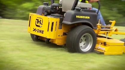 X-one, Hustler X-One, Hustler, Z-Turn, Zero Turn, Zero-Turn, mower