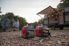 double your power with parallel capability, Honda Generators, Honda Warranty, generators
