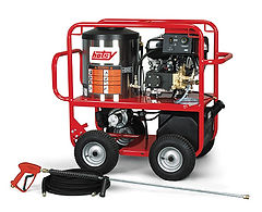 gas engine series, oil heated, gas powered, hot water, portable