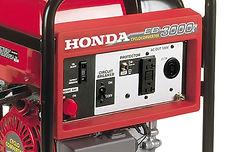 all circuits GFCI protected, Honda Generators, Honda Warranty, generators