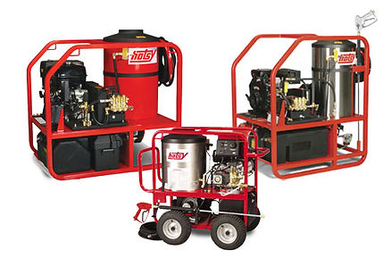 fuel oil heated, gas powered, hot water, pressure washer