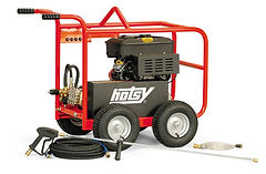 gas powered, cold water, portable, pressure washer, power washer