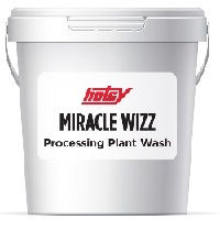 miracle wizz, Hotsy detergent, processing plant wash