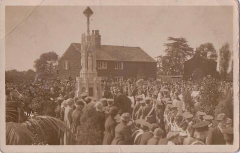 Dedication of Brownedge Memorial