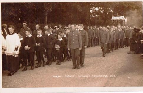 2nd West Lancs RFA, Corpus Christi 1915