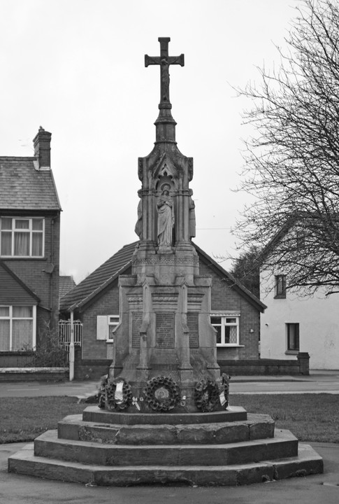 Brownedge Memorial, March 2018, thanks to Raymund Livesey
