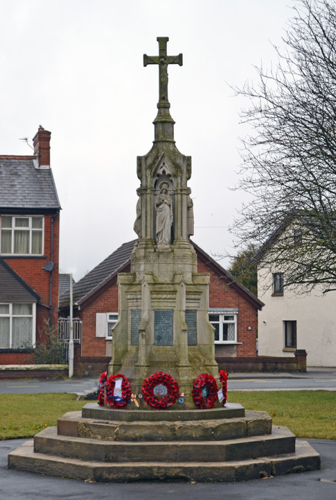 Brownedge Memorial March 2018, thanks to Raymund Livesey
