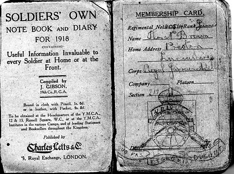 Tom Brown's diary.jpg