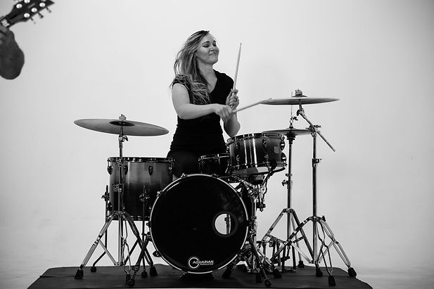 Emily Gould Drumming Video