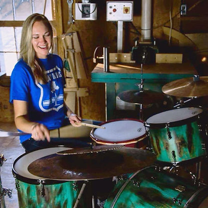 Emily Gould Outlaw Drums Feature