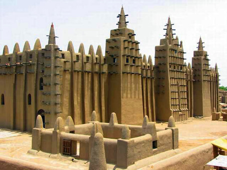 The Great Mud Mosque of Mali