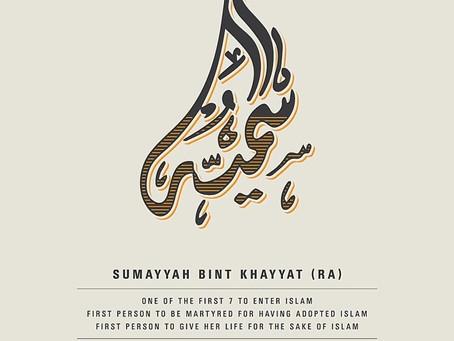 Sumayyah - Islam's First Martyr