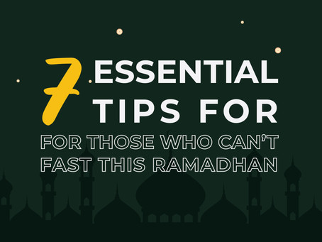 7 Essential Tips for Those Who Can't Fast