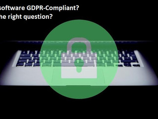 Software compliant com RGPD?