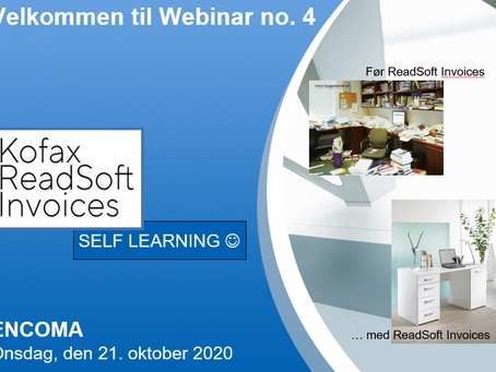 ENCOMA OFFERS YOU SELF LEARNING ON HOW TO HANDLE ELECTRONIC INVOICES IN READSOFT INVOICES
