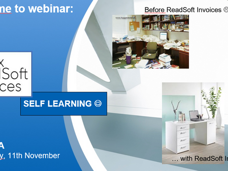 ENCOMA OFFERS YOU MORE SELF LEARNING ON HOW TO INCREASE YOUR PRODUCTIVITY USING READSOFT INVOICES