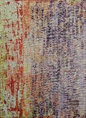13.SOLD Sydney contemporary 2019 Joshua Bonson SKIN 126cm x 93cm synthetic polymer paint o