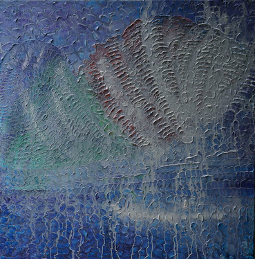 7. Consignment COOEE  Joshua Bonson JB1048   Fluted Giant Clam 120 x 120cm 2020.jpg