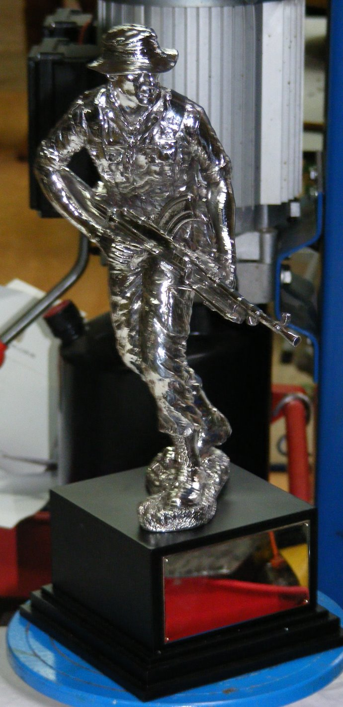 Resin Miniature of Statue