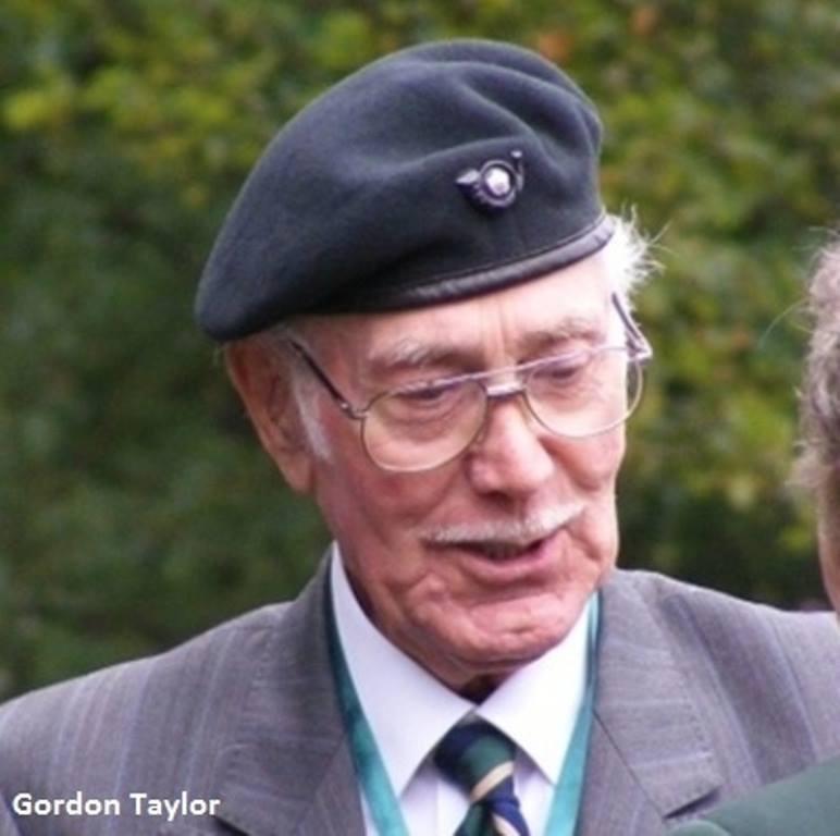 Capt Godfrey Taylor late KOYLI/2LI