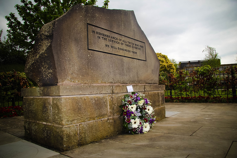 Memorial to the Fallen Peace Garden Dewsbury