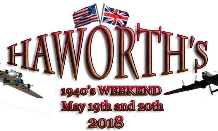 Haworth's 1940s Weekend Poster
