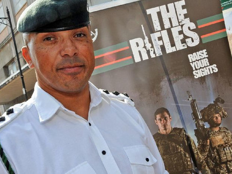 The funeral for Rifleman (Captain) Gary 'Gaz' Case