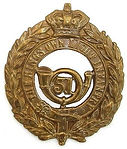 51st of Foot Cap Badge