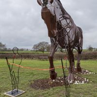 Featherstone War Horse with Tommys