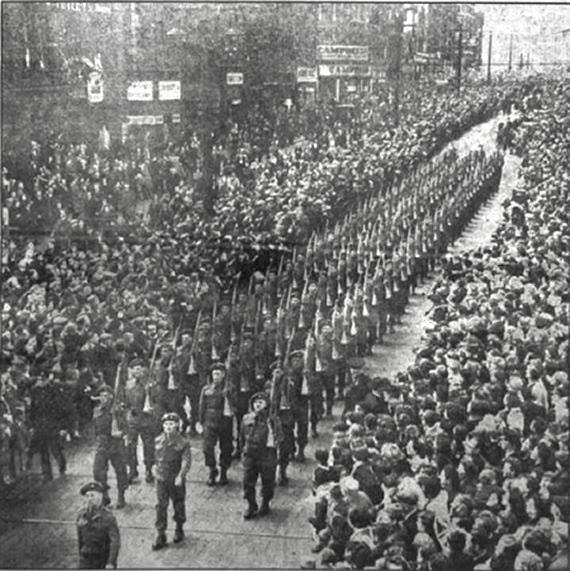 KOYLI Freedom Parade 1945